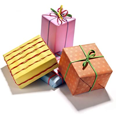 presents - Happy Birthday All of u