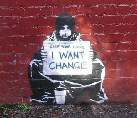 shrinking change