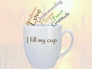 filled cup