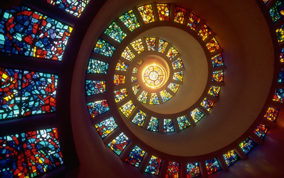 Creative_Wallpaper_Stained-glass_windows_016349_