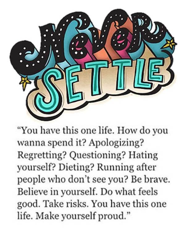 never-settle