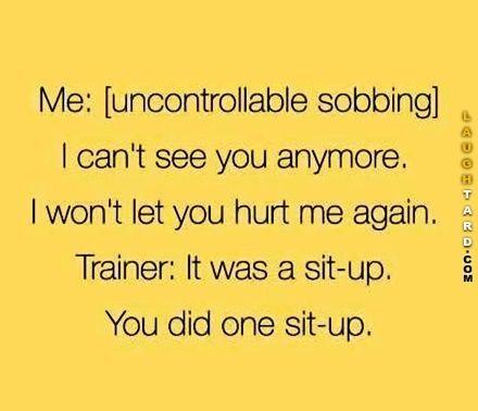 sit up